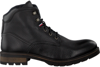 Black TOMMY HILFIGER Lace-up boots WINTER TEXTURED  - medium