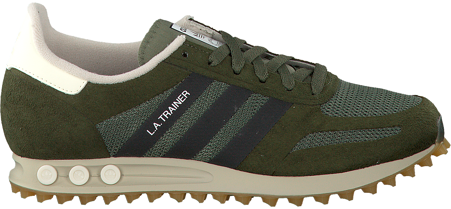 Green ADIDAS Sneakers LA TRAINER OG HEREN - Omoda.com