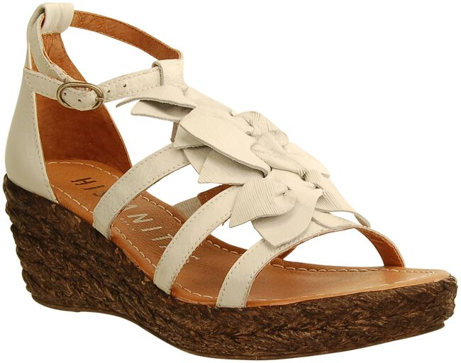 White HISPANITAS Sandals 13954 - large
