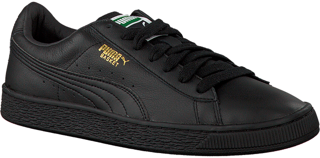 Black PUMA Sneakers BASKET CLASSIC MEN - large