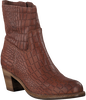 Brown SHABBIES Booties 250108 - small