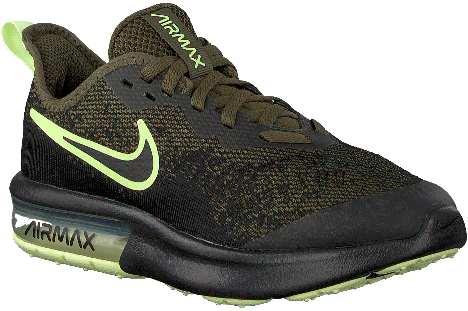 nike air max sequent groen