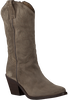 Taupe RED-RAG Cowboy boots 77048  - small