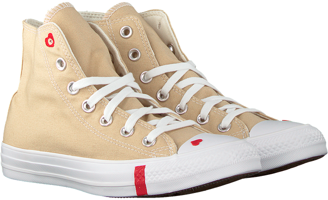 Beige CONVERSE High sneakers CHUCK TAYLOR AS LOVE  - large