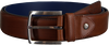 Cognac FLORIS VAN BOMMEL Belt 75185 - small