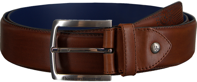 Cognac FLORIS VAN BOMMEL Belt 75185 - large
