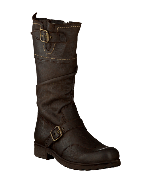 Brown OMODA High boots 8012 - large