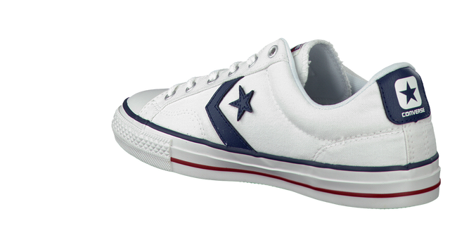 White CONVERSE Sneakers STAR PLAYER OX - large