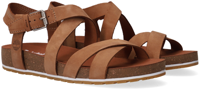 Brown TIMBERLAND Sandals MALIBU WAVES ANKLE - large