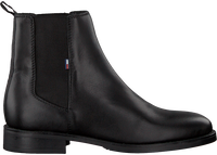 Black TOMMY HILFIGER Chelsea boots ESSENTIAL DRESSED  - medium
