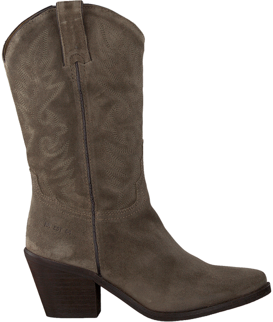 Taupe RED-RAG Cowboy boots 77048  - large