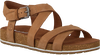 Brown TIMBERLAND Sandals MALIBU WAVES ANKLE - small