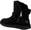 Black UGG Fur boots LUXE SPILL SEAM MINI - small