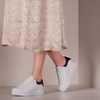 White LEMARÉ Low sneakers 2494  - small