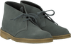 Grey CLARKS Ankle boots DESERT BOOT DAMES - small