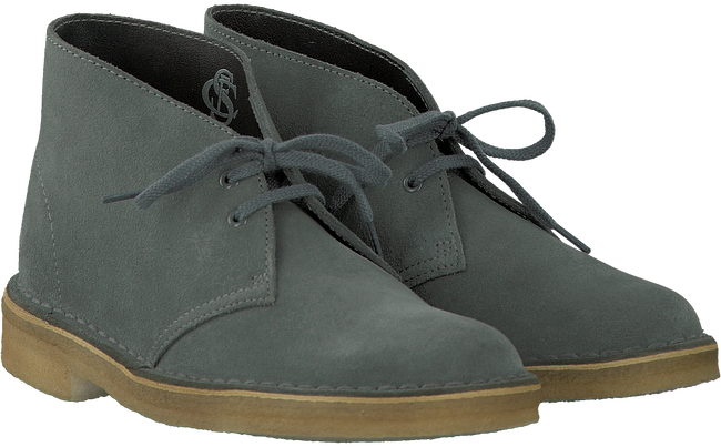 Grey CLARKS Ankle boots DESERT BOOT DAMES - large