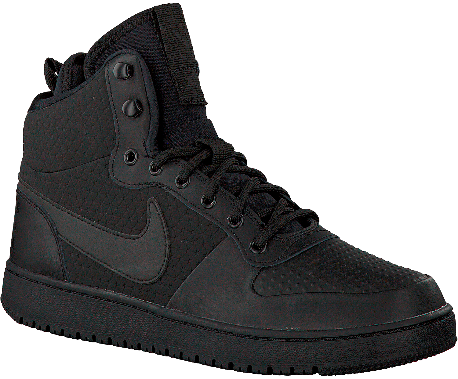 new style d0ed8 93ef3 Black NIKE Sneakers COURT BOROUGH MID WINTER