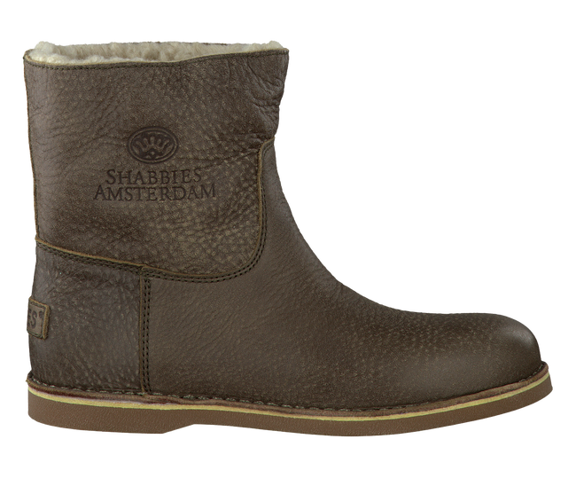 Taupe SHABBIES Booties 202024 - large