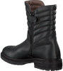 Black RED RAG High boots 15568 - small