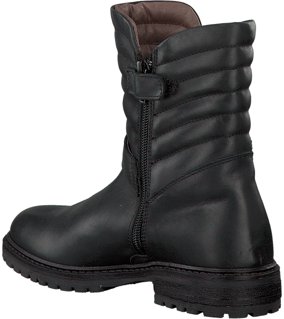 Black RED RAG High boots 15568 - large