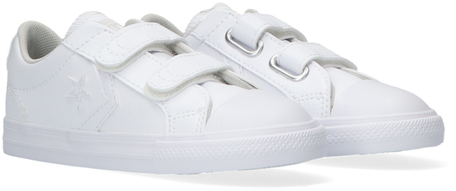 White CONVERSE Sneakers STAR PLAYER EV 2V OX KIDS - large