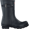 Blue HUNTER Rain boots MENS ORIGINAL SHORT - small