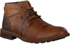 Cognac GAASTRA Lace-up boots CREW MID CHAPA  - small