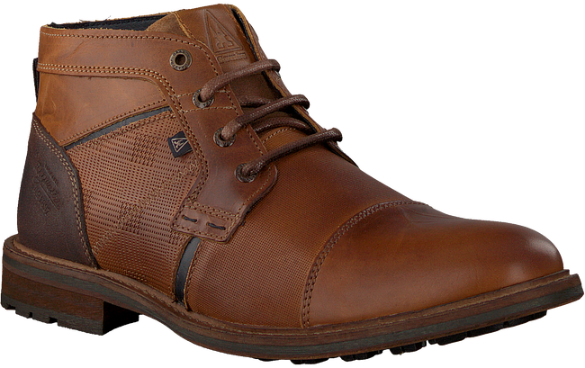 Cognac GAASTRA Lace-up boots CREW MID CHAPA  - large