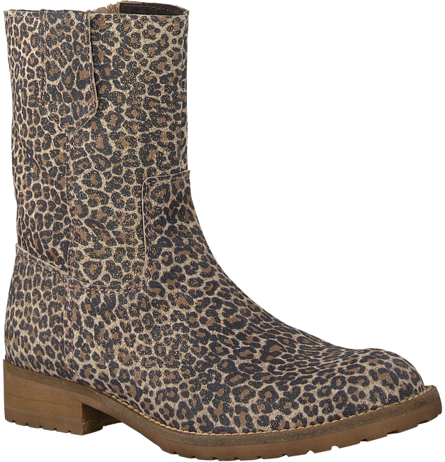Beige HIP High boots H1317 - large