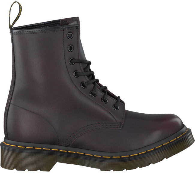 Red DR MARTENS Ankle boots 1460 - large