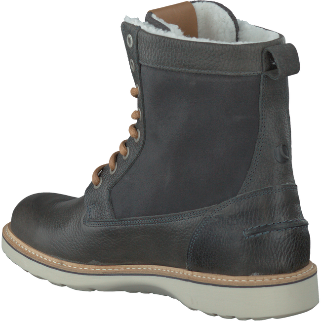 Grey BJORN BORG Lace-up boots MILAN GR HIGH FUR - large