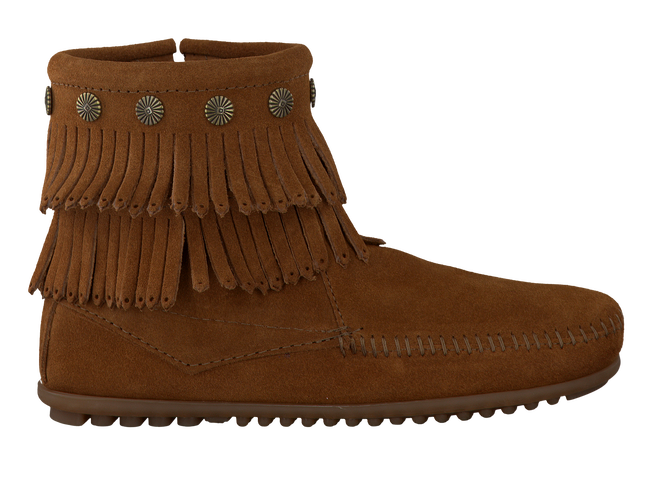 Cognac MINNETONKA Booties 692 - large