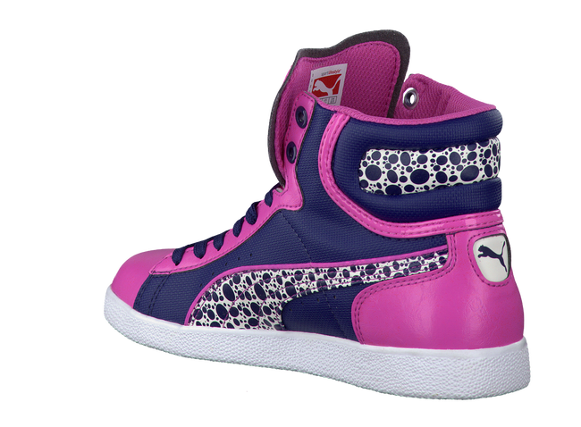 Pink PUMA Sneakers 354577 - large