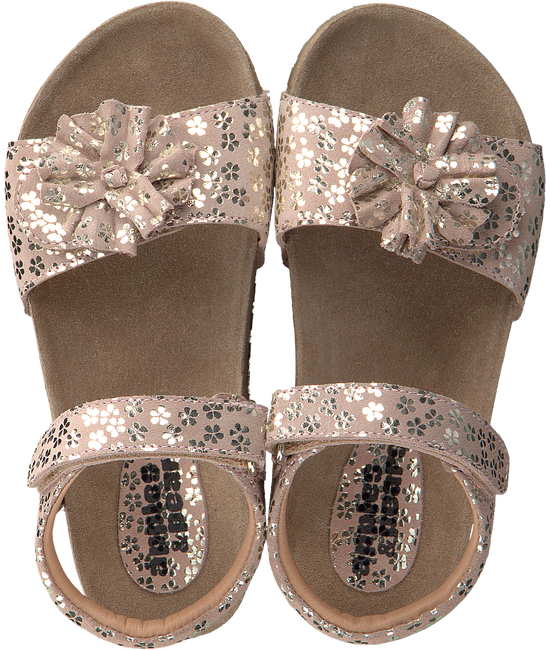 Pink APPLES & PEARS Sandals FLEUR  - large