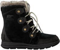 Black SOREL Lace-up boots EXPLORER JOAN - medium