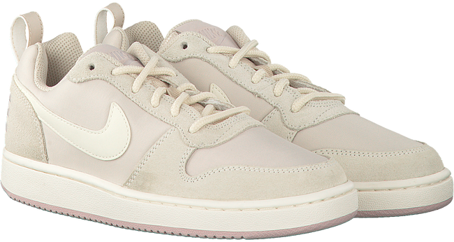 White NIKE Sneakers COURT BOROUGH LOW PREM - large