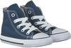 Blue CONVERSE Sneakers CHUCK TAYLOR ALL STAR HI KIDS - small