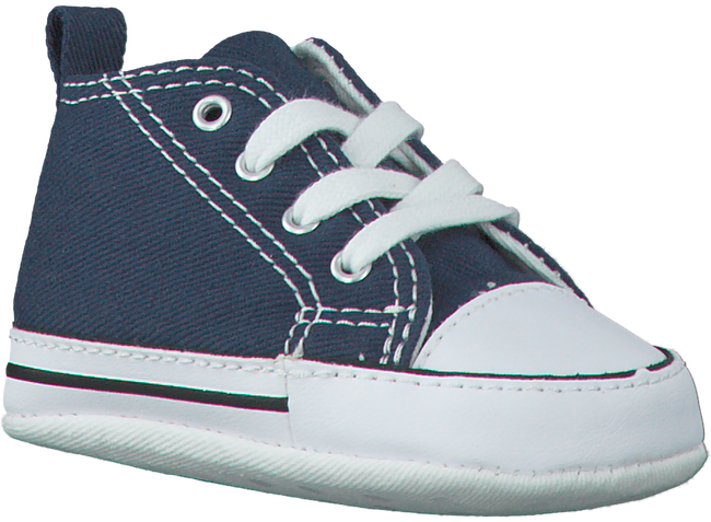 Blue CONVERSE Baby shoes FIRST STAR - large