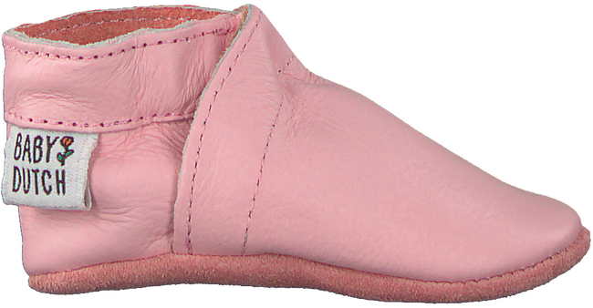 Pink BABY DUTCH Baby shoes BABYSLOFJE  - large