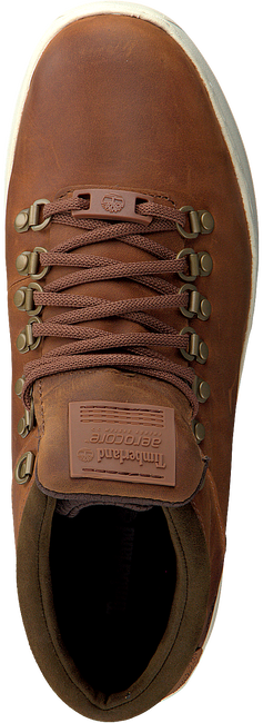 Brown TIMBERLAND Lace-up boots CITYROAM CUPALPINE CHUK - large