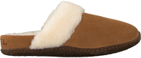 Camel SOREL Slippers NAKISKA SLIDE - medium