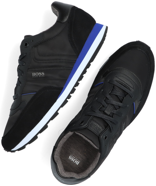 Black BOSS Sneakers PARKOUR RUNN MX  - large