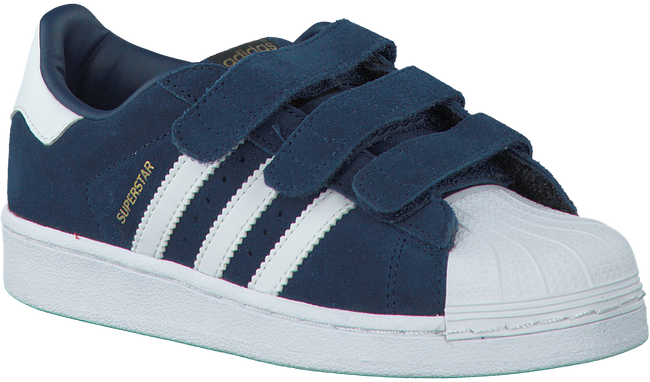 Blue ADIDAS Sneakers SUPERSTAR KIDS - large