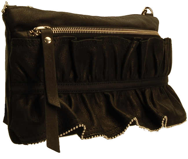 Black HISPANITAS Clutch 14079 - large