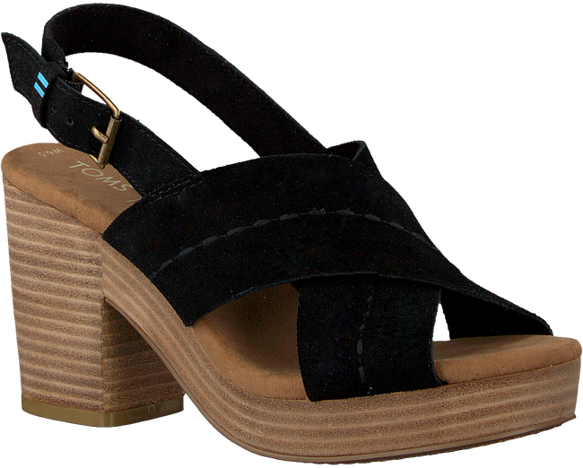 Black TOMS Sandals IBIZA  - large