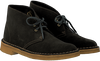 Green CLARKS Ankle boots DESERT BOOT DAMES - small