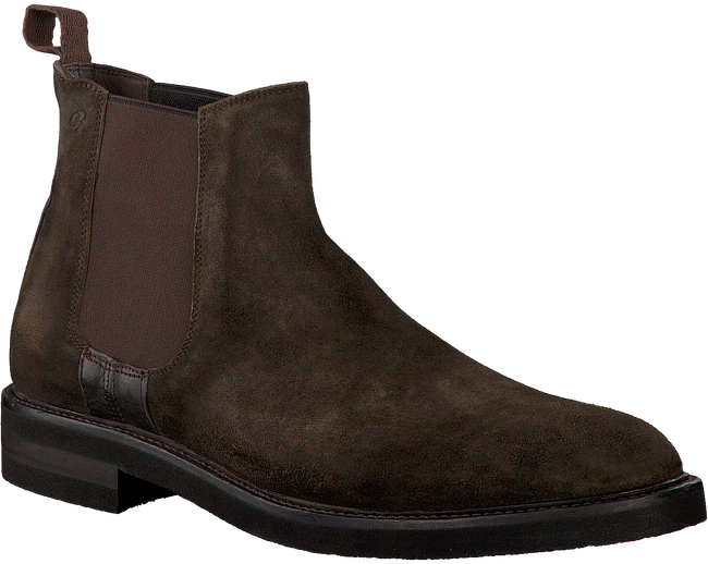 Brown GREVE Chelsea boots CABERNET II - large