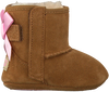 Cognac UGG Baby shoes JESSE BOW II - small
