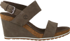 Green TIMBERLAND Sandals CAPRI SUNSET WEDGE - small