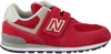 Red NEW BALANCE Sneakers YV574/IV574 - small